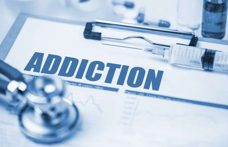medical concept: Addiction