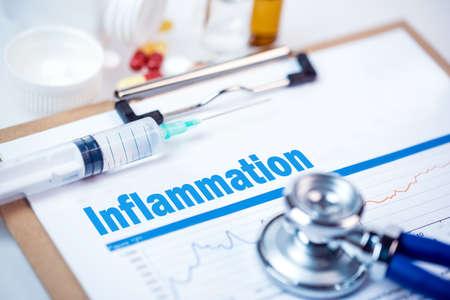 Concetto medico: l'infiammazione