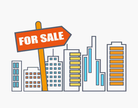 house for sale: House for sale. real estate market analysis concept
