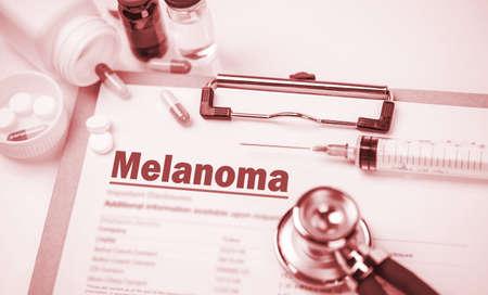 melanoma: Medical Concept: Melanoma