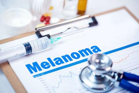Medical Concept: Melanoma