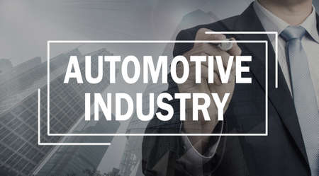 communication industry: business communication concept: automotive industry