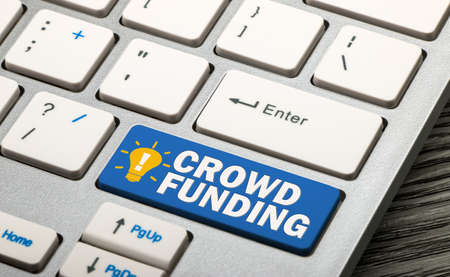 crowd funding button on keyboard