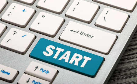 start button on keyboard