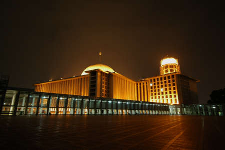 is established: Istiqlal Mosque is a historic building in Indonesia were established during the leadership of President Sukarno, the first president of Indonesia