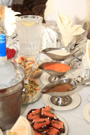 Table de mariage est prête pour la fête Banque d'images - 21883794