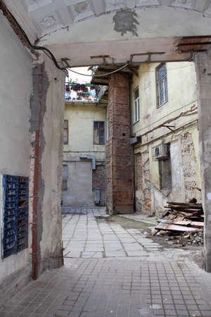 Photos de vieux bâtiment abandonné Banque d'images - 24805999