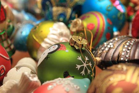 Ornement de Noël, pendant la saison d'hiver Banque d'images - 34544088