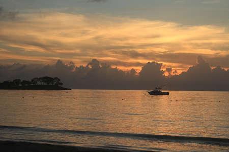 Plage Negril en Jamaïque Banque d'images - 48863714