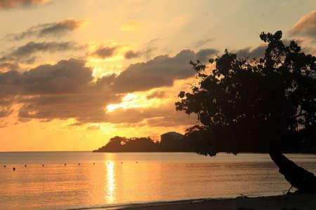 Negril beach en Jamaïque Banque d'images - 82622758
