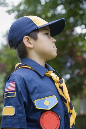 Asian boy wearing uniform LANG_EVOIMAGES