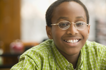 Portrait of African school boy LANG_EVOIMAGES