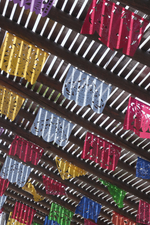 Hanging Paper Flags