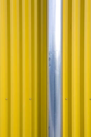Pipe and Corrugated Metal Wall LANG_EVOIMAGES