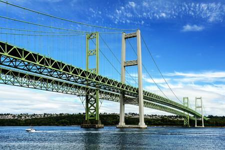 Narrows Bridge, Tacoma, Washington, United States LANG_EVOIMAGES