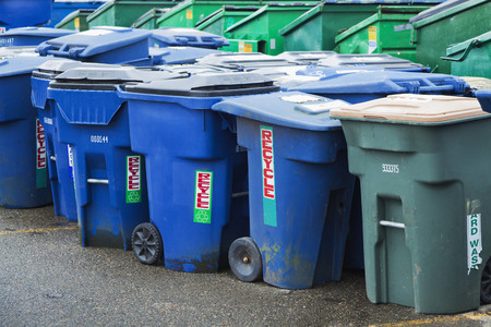 Plastic Garbage Bins