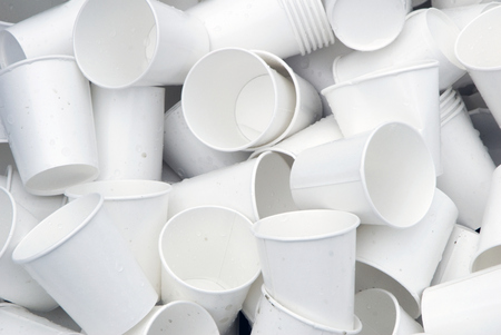 Used Paper Cups