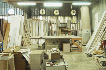 A woodworking factory in Taiwan