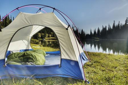 Campsite Near Lake