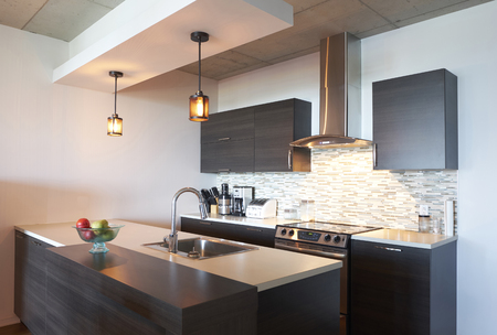 Sink and oven in modern kitchen Banco de Imagens - 102038094