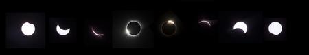 Phases of lunar eclipse Banco de Imagens - 102038194