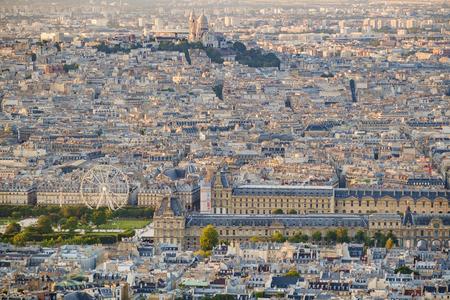 Cityscape of Paris, France Banco de Imagens - 102038204