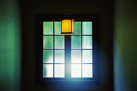 Antique windows and lights