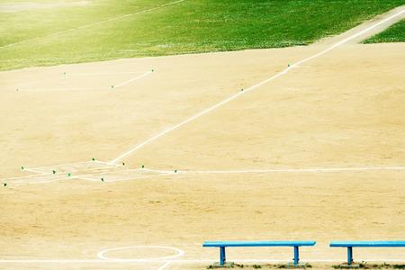 Baseball ground