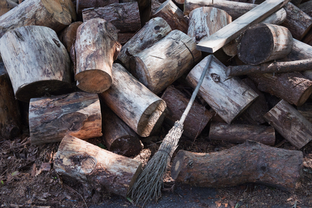 Firewood Standard-Bild