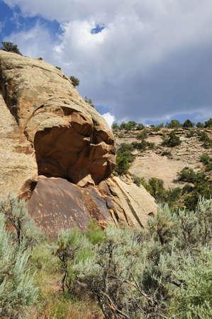 Newspaper Rock near Canyonlands National Park