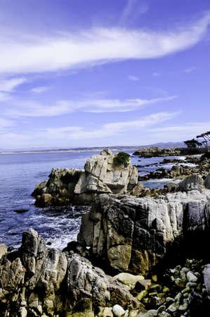 Monterey bay taken near Pacific Grove, California