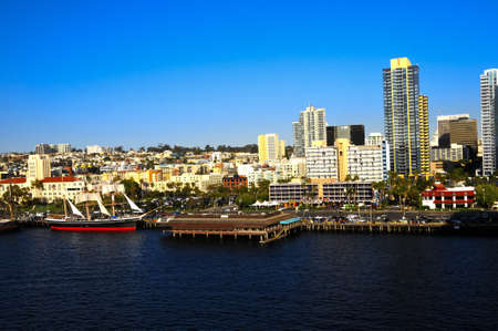 A view of downtown San Diego from the water. Editorial