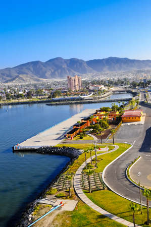 Cruiseport Village at Ensenada Mexico Stock Photo - 13521822