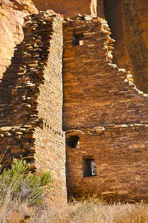 anasazi ruin, Hungo Pavi at Chaco Culture National Historical Park