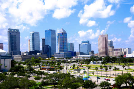 View of Downtown Tampa Florida