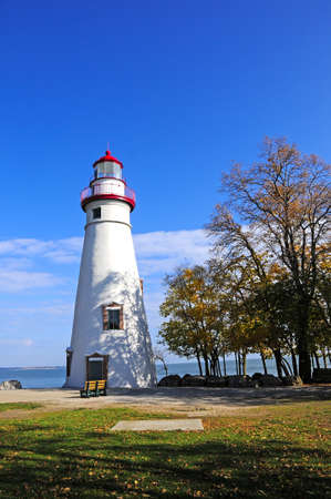 erie: The Marblehead Lighthouse on Lake Erie