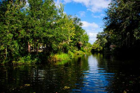Waterway going to Homosassa Springs Wildlife Park