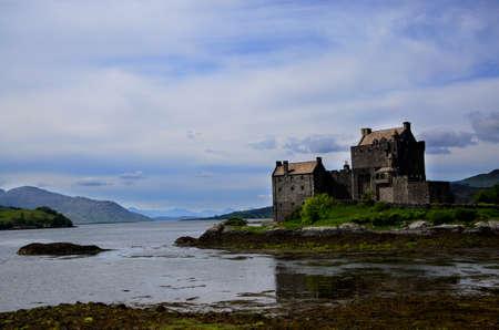 lochs: Eilean Donan Castle overlooking three Lochs.