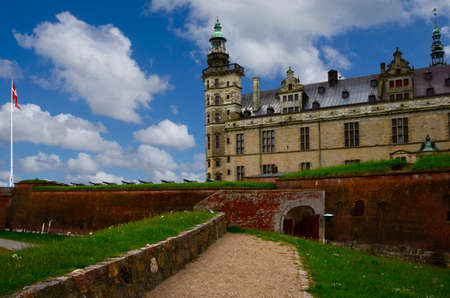 Ancient Kronborg Castle in Helsingor Denmark