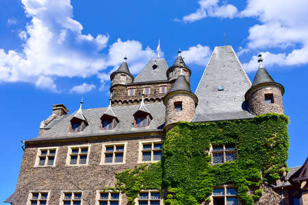 Castle Reichsburg in Cochem Germany