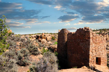 Twin Towers at Hovenweep National Monument