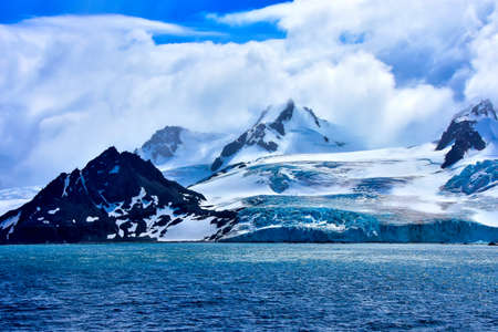 Antarctica in the summer, near Elephant Island.