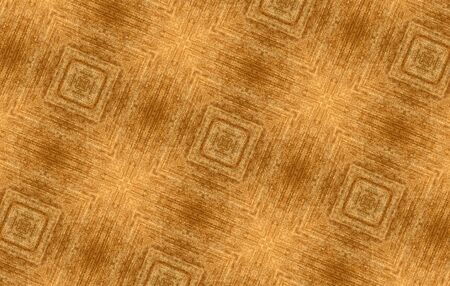 Honey-colored velveteen: mosaic tracery made of velvet fabric. The detailed wide kaleidoscope designed like a tissue patchwork No.2