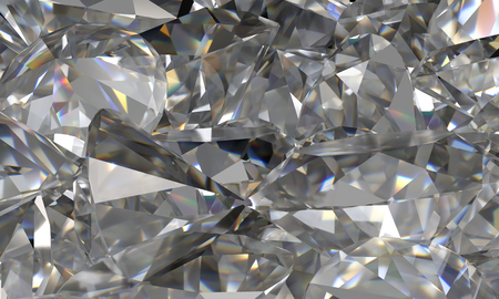dispersion: Background with diamonds dispersion and shine