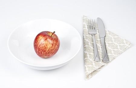 Apple diet.