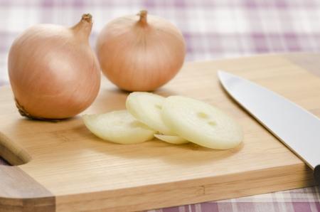 Healthy food ingredients being processed while making food