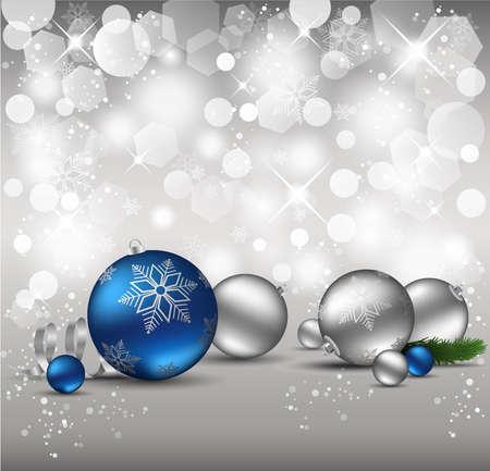 elegant christmas: Elegant Christmas Background.