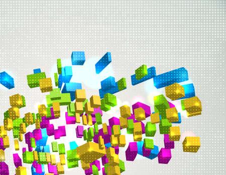 Technology background. Vector Illustration. EPS10 Stock Vector - 10270789
