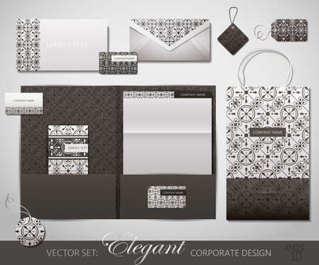 Elegant Corporate Design. Vector Illustration.  Stock Vector - 10933946