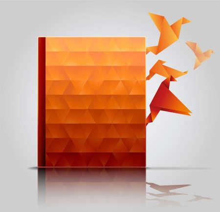 publish: Book Cover, Creative Book Presentation.